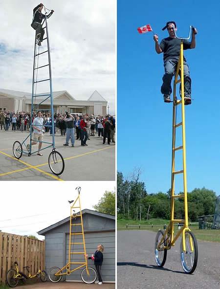 Sepeda-Sepeda Aneh di Dunia